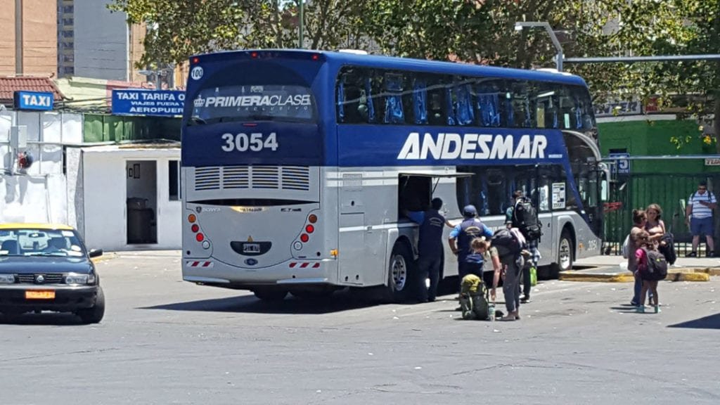 How to Get from Santiago to Mendoza Bus