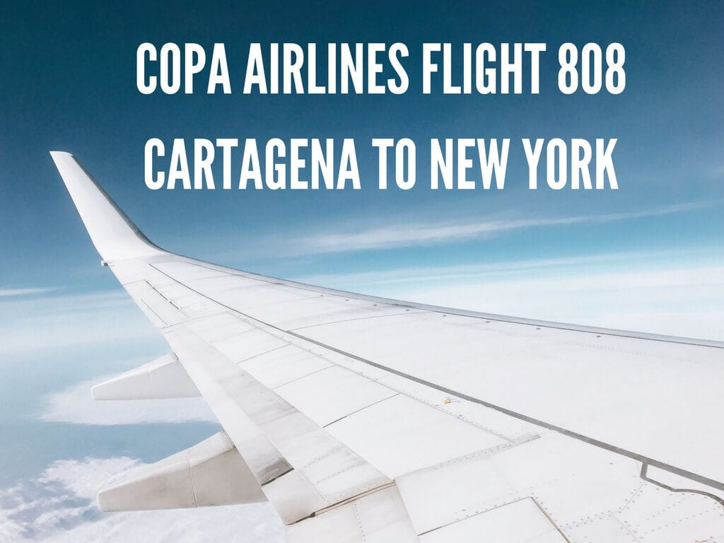 Copa Airlines Review: Flight 808 Cartagena to New York