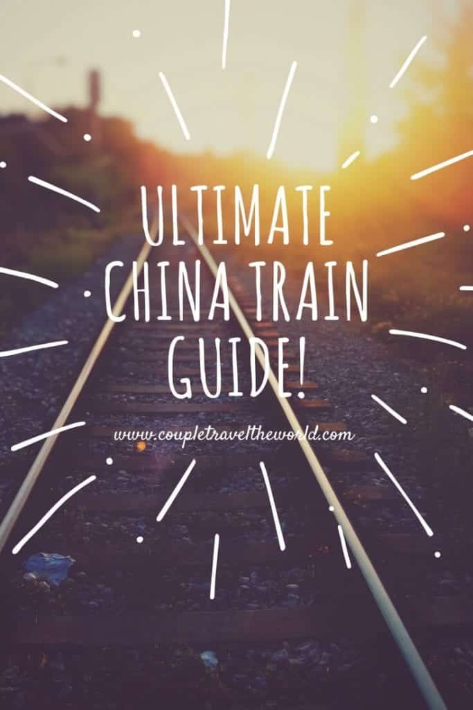 An image of our Pinterest guide to the best train routes in China