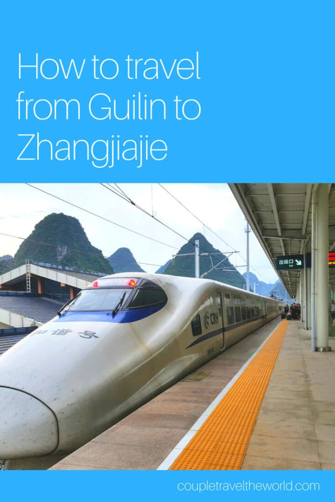 A guide to the Guilin to Zhangjiajie train with lots of photos