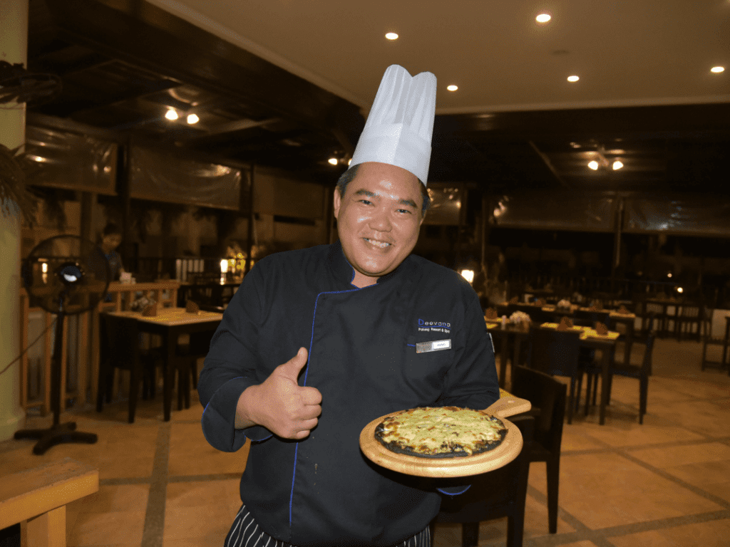 An-image-showing-the-chef-at-Deevana-Resort-and-Spa
