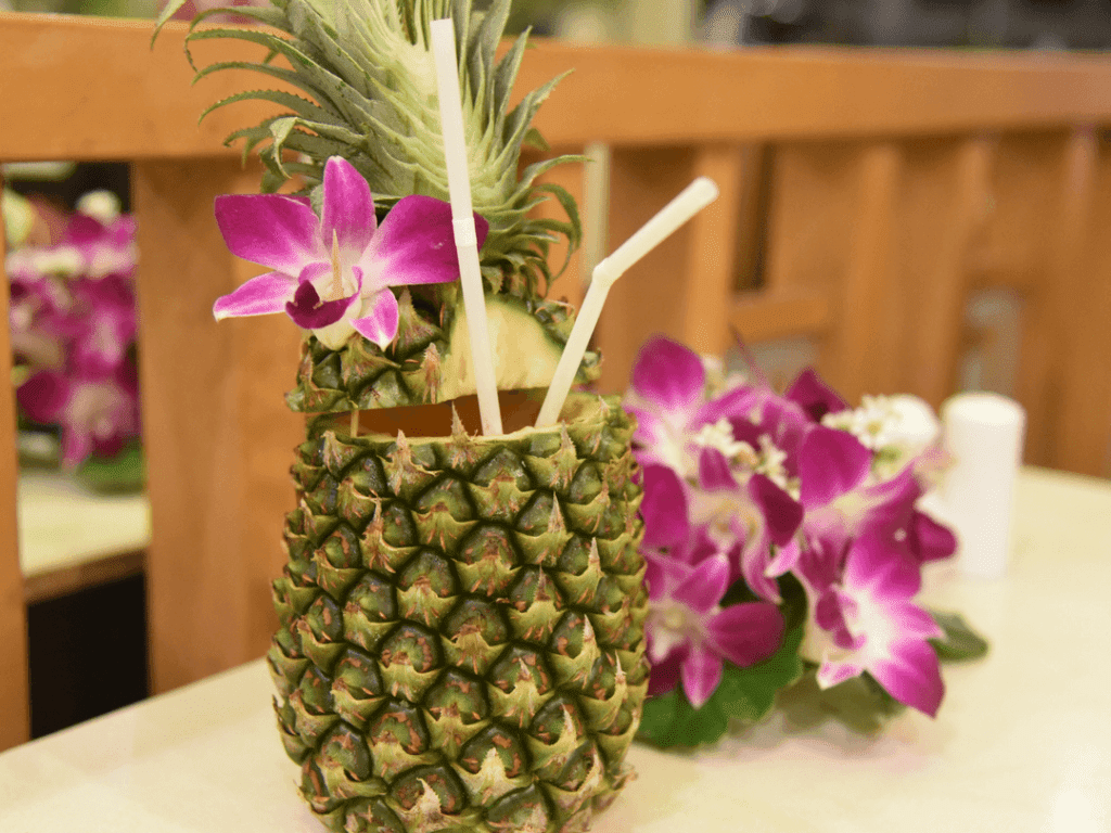 An-image-showing-the-best-Mai-Tai-in-a-pinapple-in-Patong