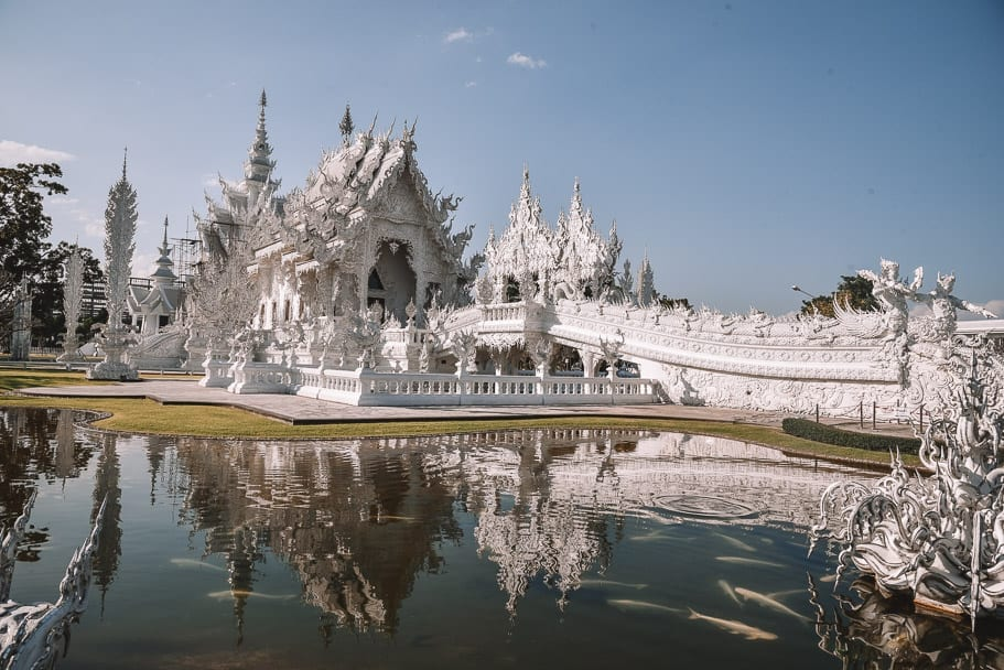 Wat Rong Khun from Chiang Mai (Take Me Tour)