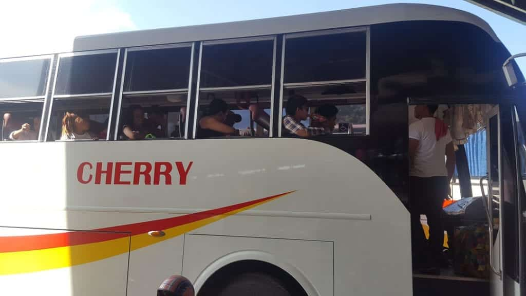 Puerto Princesa Bus without Air Conditioning