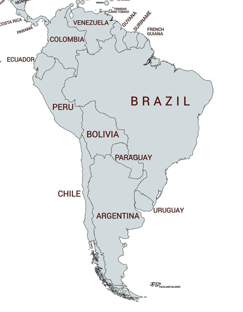 Map-of-South-America-for-travel-guide