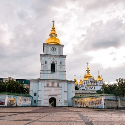 St Michael's Cathedral (A STUNNING must see Church in the heart of Kiev)