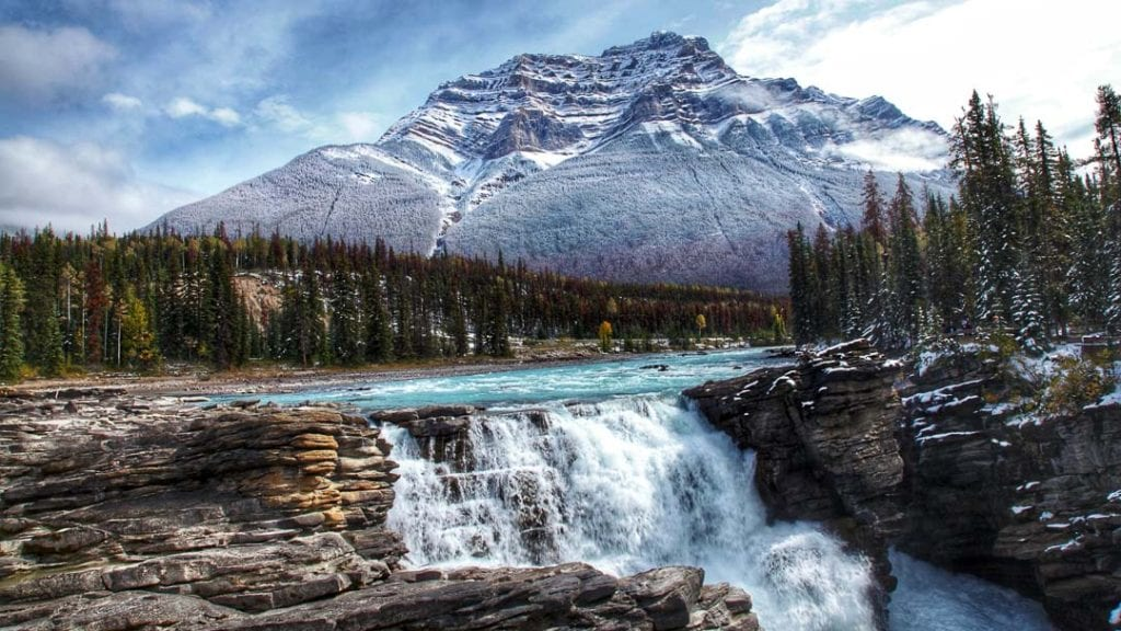 Athabasca Falls Hike | Why it's Jasper National Park's Top Attraction