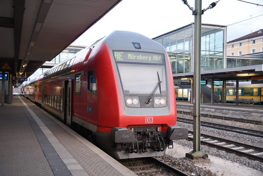 Frankfurt to Regensburg Overnight train | How to Travel with Eurail