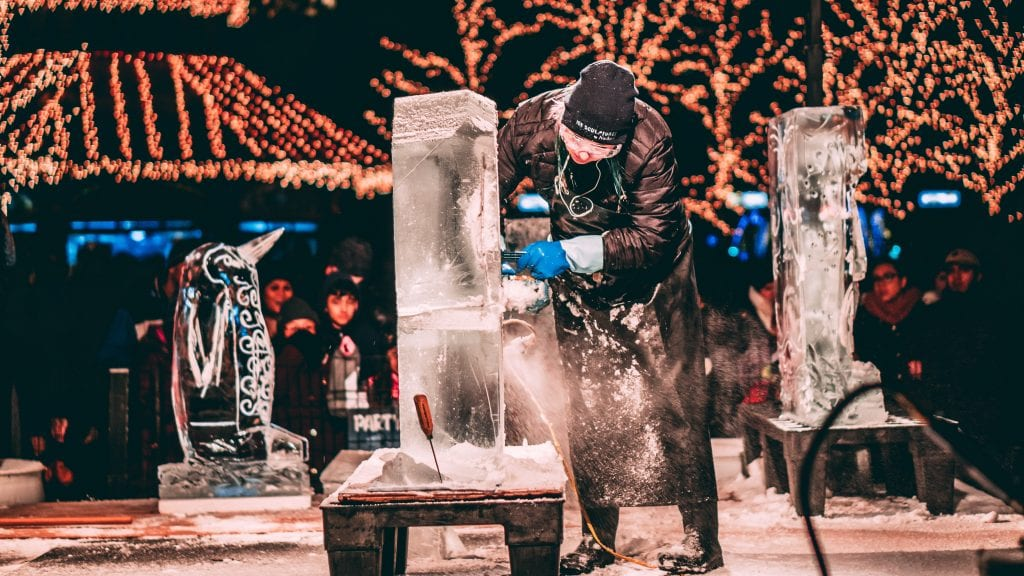 ice sculpture class date idea