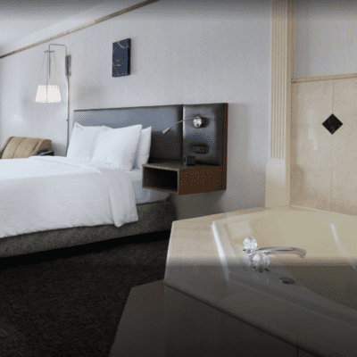 Hotels with Jacuzzi in room in Charlotte NC (Or Hot Tub / Whirlpool Spa!)